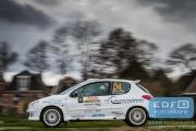 Martijn van Hoek - Sonny Vangerven - Peugeot 206 RC - Tank S Rally 2015