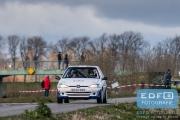 Henrik Munk Hansen - Mike van den Brink - Peugeot 106 S16 - Tank S Rally 2015