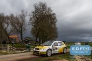 Erik Wevers - Michiel Poel - Skoda Fabia WRC - Tank S Rally 2015