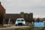 Arjen de Koning - Cindy Verbaeten - Mitsubishi Lancer EVO 10 R4 - Tank S Rally 2015