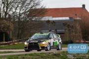 Antoine van Ballegooijen - Johan Findhammer - Mitsubishi Lancer EVO 10 - Tank S Rally