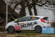 Kevin van Deijne - Harmen Scholtalbers - Ford Fiesta R2 - Tank S Rally 2015