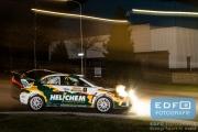 Henk Vossen - Kris Botson - Mitsubishi Lancer EVO 10 - Tank S Rally 2015