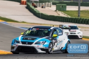 Andrea Belicchi - Target Competition - SEAT Leon Cup Racer - TCR International Series - Circuit Ricardo Tormo Valencia