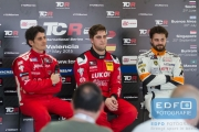 Persconferentie - TCR International Series - Circuit Ricardo Tormo Valencia