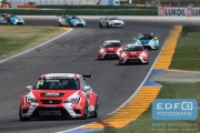 Pepe Oiola - Team Craft-Bamboo LUKOIL - SEAT Leon Cup Racer - TCR International Series - Circuit Ricardo Tormo Valencia