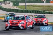 Sergey Afanasyev - Team Craft-Bamboo LUKOIL - SEAT Leon Cup Racer - TCR International Series - Circuit Ricardo Tormo Valencia
