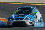 Stefano Comini - Target Competition - SEAT Leon Cup Racer - TCR International Series - Circuit Ricardo Tormo Valencia
