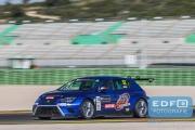David Cebrian - JSB Competition - SEAT Leon Cup Racer - TCR International Series - Circuit Ricardo Tormo Valencia