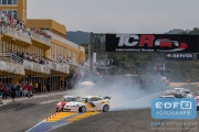 Start crash TCR International Series - Circuit Ricardo Tormo Valencia