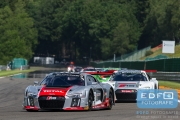 Frank Stppler - Nico Müller - Stephane Ortelli - Audi R8 LMS - Audi Sport Team WRT - Total 24 Hours of Spa