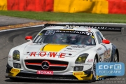 Nico Bastian - Stef Dusseldorp - Daniel Juncadella - Mercedes SLS AMG GT3 - ROWE Racing - Total 24 Hours of Spa