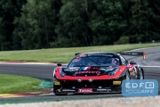 Romain Brandela - Eric Clement - Bernard Delhez - Gilles Duqueine - Ferrari 458 Italia - Duqueine Engineering - Total 24 Hours of Spa