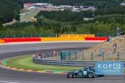 Hubert Haupt - Abdulaziz Bin Turki Al Faisal - Yelmer Buurman - Mercedes SLS AMG GT3 - Black Falcon - Total 24 Hours of Spa