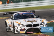 Lee Mowle - Ryan Ratcliffe - Joe Osborne - Dirk Müller - BMW Z4 GT3 - Triple Eight Racing - Total 24 Hours of Spa