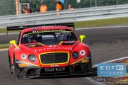 Harold Primat - Vincent Abril - Mike Parisi - Bentley Continental GT3 - Bentley Team HTP - Total 24 Hours of Spa
