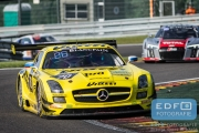 Christophe Bouchut - Kenneth Heyer - Miguel Toril - Alexey Karachev - Mercedes SLS AMG GT3 - GT Russian Team - Total 24 Hours of Spa