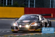 Max Koebolt - Sacha Bottemanne - Pieter Schothorst - James Nash - Audi R8 LMS Ultra - Team WRT - Total 24 Hours of Spa