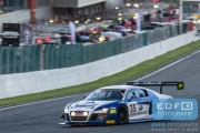 Gregory Guilvert - Edward Sandstrom - Marc Basseng - Audi R8 LMS Ultra - Sainteloc - Total 24 Hours of Spa