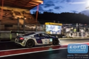 Michael Blanchemain - Gilles Lallement - Philippe Hazebrouck - Beniamino Caccia - Audi R8 LMS Ultra - Sainteloc - Total 24 Hours of Spa