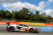 Bruno Senna - Adrian Quaife-Hobbs - Alvaro Parente - McLaren 650S GT3 - Von Ryan Racing - Total 24 Hours of Spa