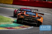 Shane van Gisbergen - Rob Bell - Kevin Estre - McLaren 650S GT3 - Von Ryan Racing - Total 24 Hours of Spa