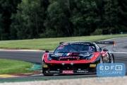 Romain Brandela - Eric Clement - Bernard Delhez - Gilles Duqueine - Ferrari 458 Italia - Duqueine Engineering - Total 24 Hours of Spa