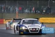Gregory Guilvert - Edward Sandström - Marc Basseng - Audi R8 LMS Ultra - Sainteloc - Total 24 Hours of Spa