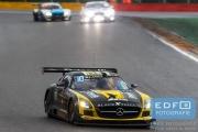 Oliver Morley - Sean Johnston - Maro Engel - Bernd Schneider - Mercedes SLS AMG GT3 - Black Falcon - Total 24 Hours of Spa
