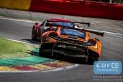 Shane van Gisbergen - Rob Bell - Kevin Estre - McLaren 650S GT3 - Von Ryan Racing - Total 24 Hours of Spa