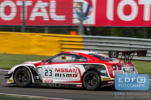 Alex Buncombe - Wolfgang Reip - Katsumasa Chiyo - Nissan GT-R Nismo GT3 - Nissan GT Academy Team RJN - Total 24 Hours of Spa Francorchamps