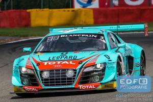 Stephane Richelmi - Jean-Karl Vernay - Robin Frijns - Audi R8 LMS Ultra - Belgian Audi Club Team WRT - Total 24 Hours of Spa