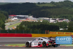 Frank Stppler - Nico Müller - Stephane Ortelli - Audi R8 LMS - Audi Sport Team WRT - Total 24 Hours of Spa