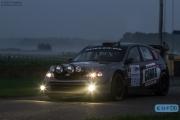 Edwin Schilt - Lisette Bakker - Subaru Impreza WRC S14 - Unica Schutte ICT Hellendoorn Rally 2014