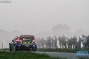 Dennis Kuipers - Robin Buijsmans - Ford Fiesta RS WRC - FERM Power Tools WRT - Unica Schutte ICT Hellendoorn Rally 2014