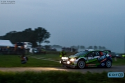 René Kuipers - Kees Hagman - Ford Fiesta S2000 - FERM Powertools WRT - Unica Schutte ICT Hellendoorn Rally 2014