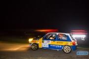 Niek Oude Luttikhuis - Wilbert van den Burg - Nissan Micrs - Hellendoorn Rally 2014