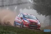 Mats van den Brand - Eddy Smeets - Ford Fiesta R2 - Verkooijen Rallysport - Unica Schutte ICT Hellendoorn Rally 2014