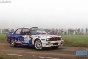 Ger Haverkate - Coen Roetgerink - BMW M3 E30 - Unica Schutte ICT Hellendoorn Rally 2014