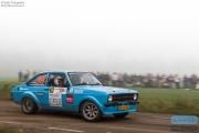 Robert Kleinlugetnbeld - Jeroen Exel - Ford Escort - Unica Schutte ICT Hellendoorn Rally 2014