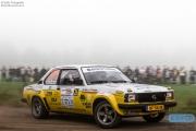 Edwin Wolves - Ingrid Wolves - Opel Ascona - Unica Schutte ICT Hellendoorn Rally 2014