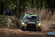 Antoine van Ballegooijen - Johan Findhammer - Mitsubishi Lancer EVO 10 - Unica Schutte ICT Hellendoorn Rally 2014