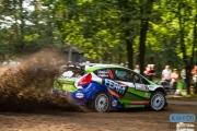 Dennis Kuipers - Robin Buysmans - Ford Fiesta RS WRC - FERM Podertools WRT - Unica Schutte ICT Hellendoorn Rally 2014
