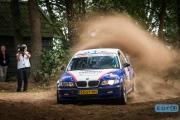 Wim Muilwijk - Saskia Bleijenberg - BMW M3 E46 - Unica Schutte ICT Hellendoorn Rally 2014