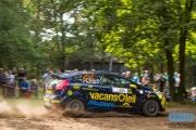 Timo van der Marel - Tim Rietveld - Ford Fiesta R2 - Unica Schutte ICT Hellendoorn Rally 2014