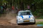 Sander van de Hel - Valentijn Martens - Opel Astra GSi - Unica Schutte ICT Hellendoorn Rally 2014