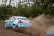 Arjen de Koning - Sander van Barschot - Mitsuibishi Lancer EVO 10 R4 - Unica Schutte ICT Hellendoorn Rally 2014