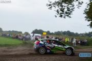 René Kuipers - Kees Hagman - Ford Fiesta S2000 - Unica Schutte ICT Hellendoorn Rally 2014
