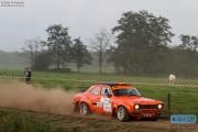 Erik Bloemendaal - Tom Kruiskamp - Ford Escort - Unica Schutte ICT Hellendoorn Rally 2014