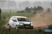 Rob Marchal - David Marchal - Mitsubishi Colt CZT - Unica Schutte ICT Hellendoorn Rally 2014